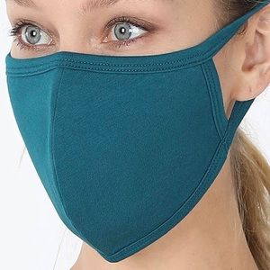 Teal Face Mask